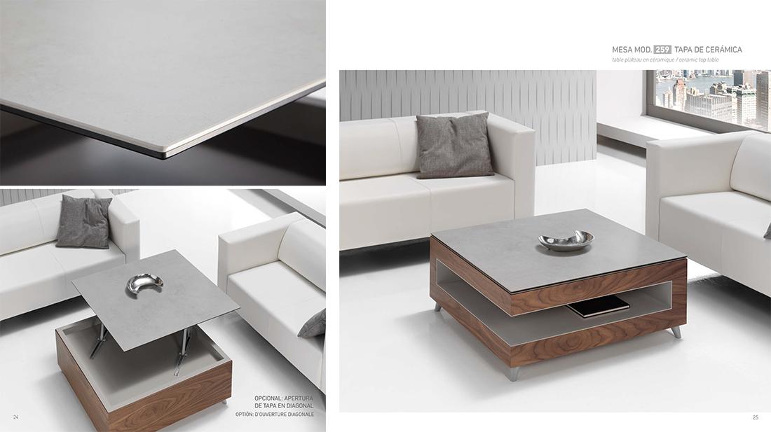 mesa de saln moderna y de diseo