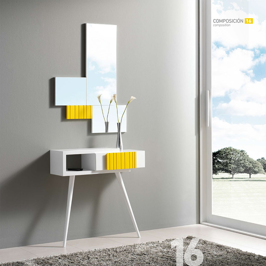 Espejos modernos para recibidor trendy espejos de for Espejos modernos para recibidor
