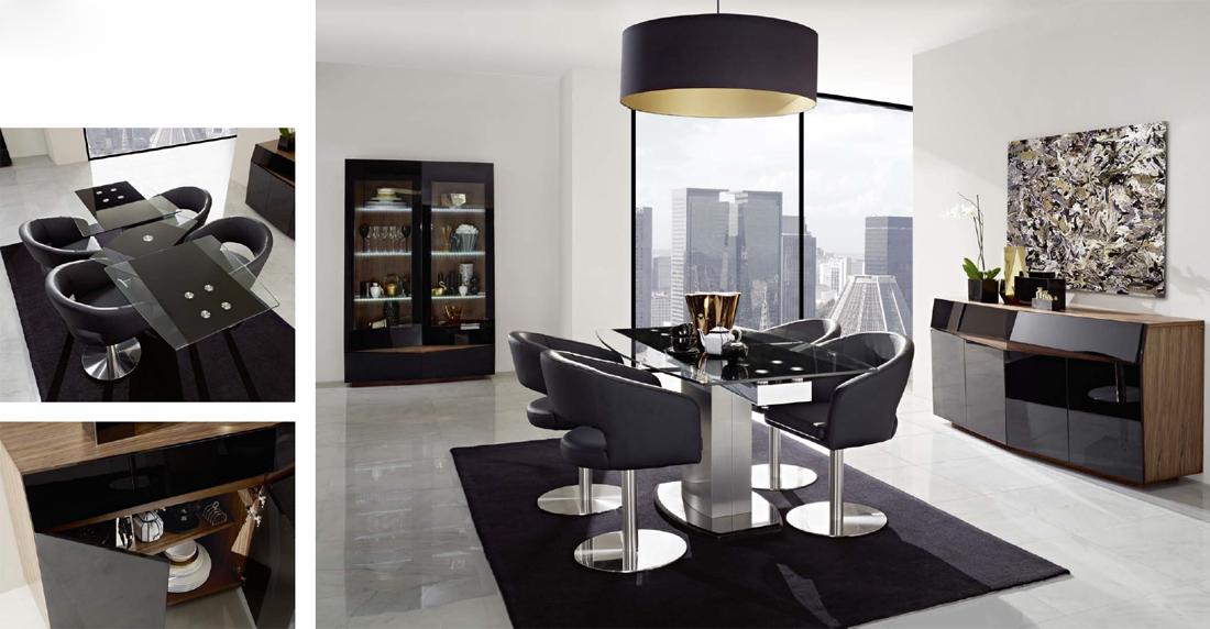 Arc comedor berlin amb b7 tienda de muebles lucama - Interiorismo salones modernos ...