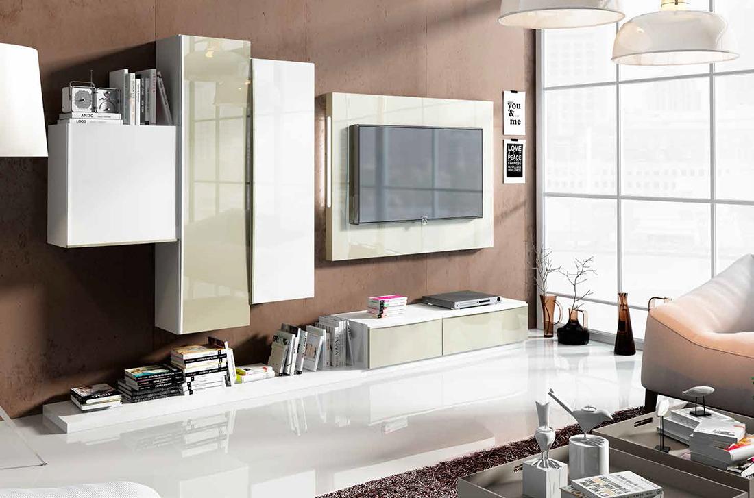 Fenicia salones modernos 17 tienda de muebles lucama - Interiorismo salones modernos ...