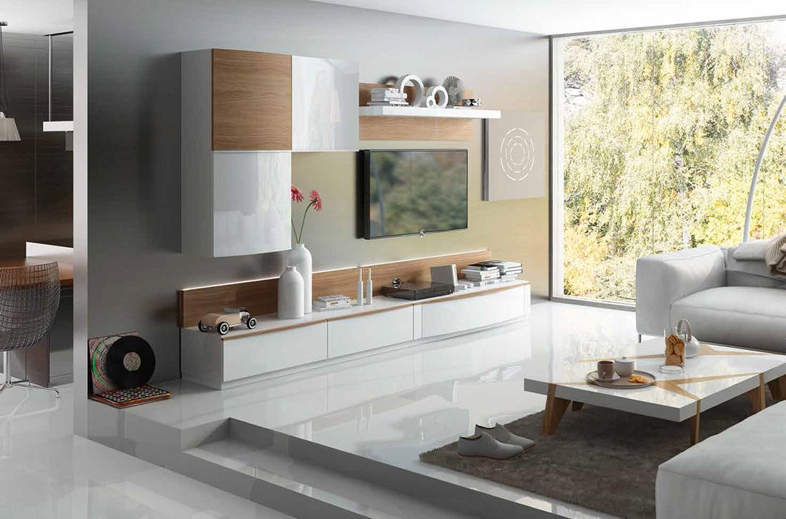Fenicia salones modernos 20 tienda de muebles lucama interiorismo - Salones modernos minimalistas ...