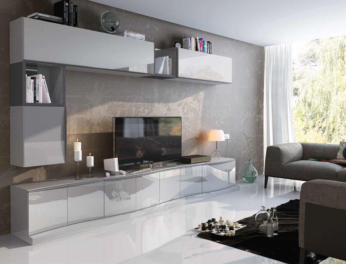 Fenicia salones modernos 23 tienda de muebles lucama - Interiorismo salones modernos ...