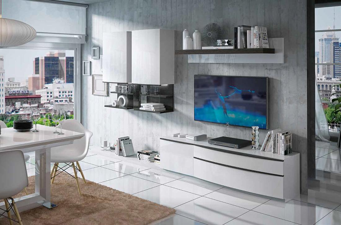 Fenicia salones modernos 24 tienda de muebles lucama - Interiorismo salones modernos ...