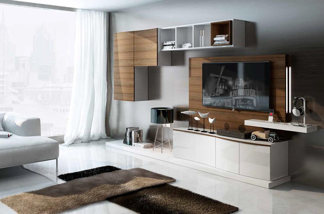 Fenicia salones modernos 25 tienda de muebles lucama - Interiorismo salones modernos ...
