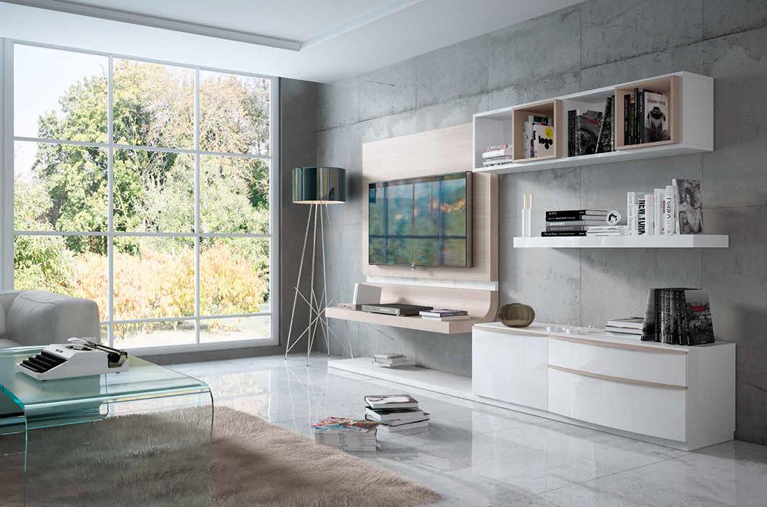 Fenicia salones modernos 28 tienda de muebles lucama - Interiorismo salones modernos ...