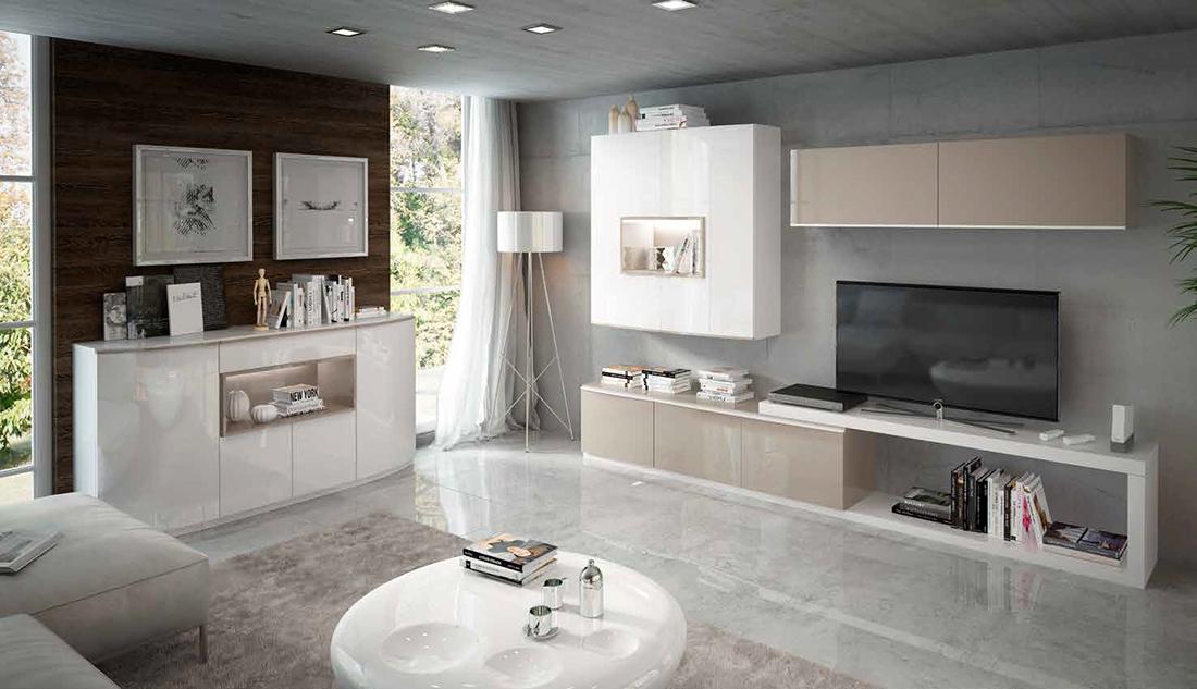 Fenicia salones modernos 30 tienda de muebles lucama - Interiorismo salones modernos ...