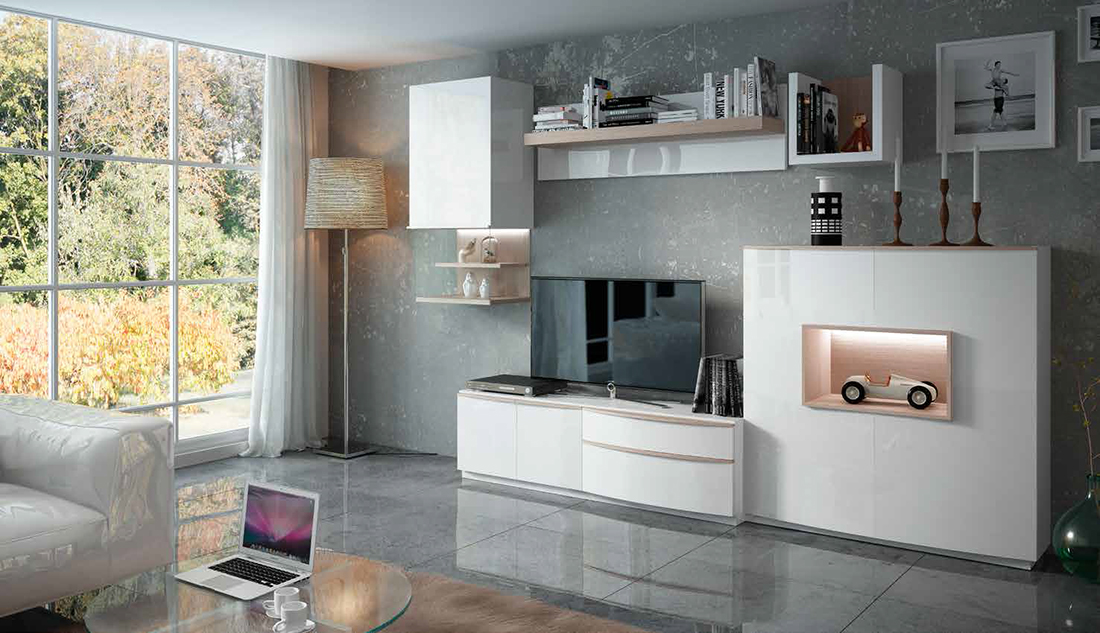 Fenicia salones modernos 32 tienda de muebles lucama - Interiorismo salones modernos ...