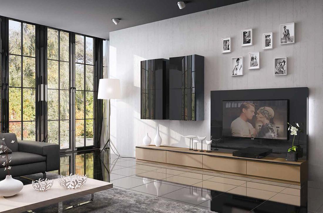 Fenicia salones modernos 35 tienda de muebles lucama - Interiorismo salones modernos ...