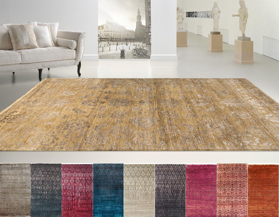 Midetextil alfombra damask tienda de muebles lucama - Alfombras para recibidores ...