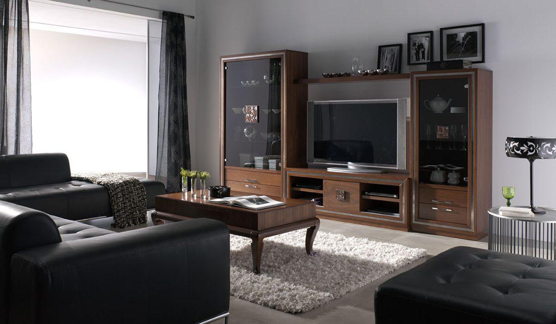 Monrabal nilo salon clasico 6 tienda de muebles lucama - Rapimueble muebles de salon ...
