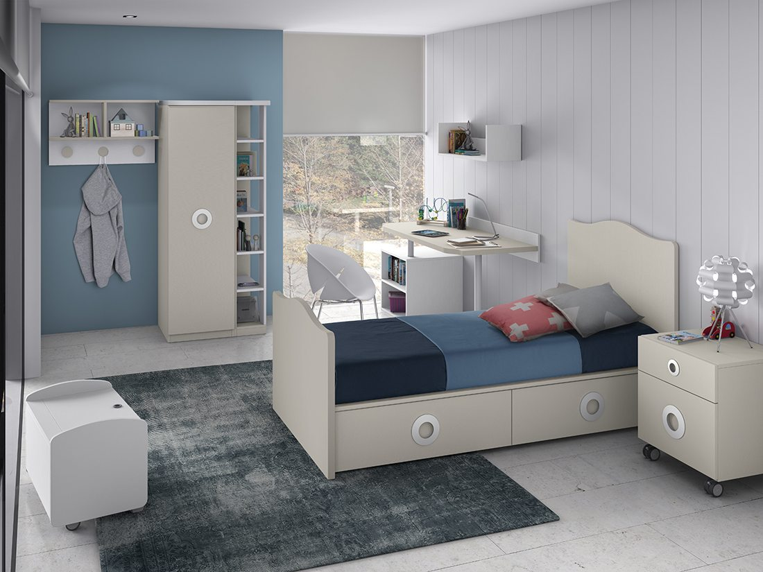 Diseño de dormitorios infantiles o juveniles. Tienda de ...