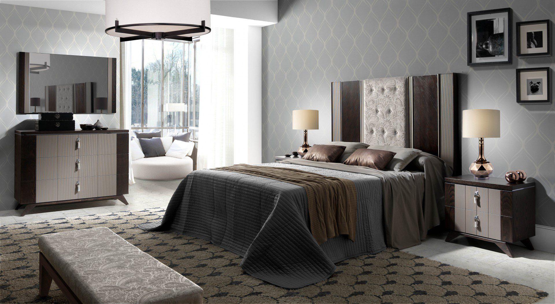 Dormitorio inedit 12 tienda de muebles lucama interiorismo - Interiorismo dormitorios ...
