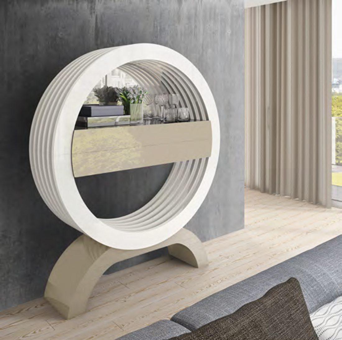 Consola lacada moderna, en tienda muebles Lucama de Valladolid
