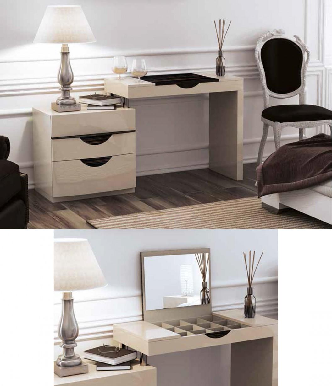 Fenicia Dormitorios Modernos 42 Tocador Y Mesita Tienda De  # Muebles Tocadores Modernos