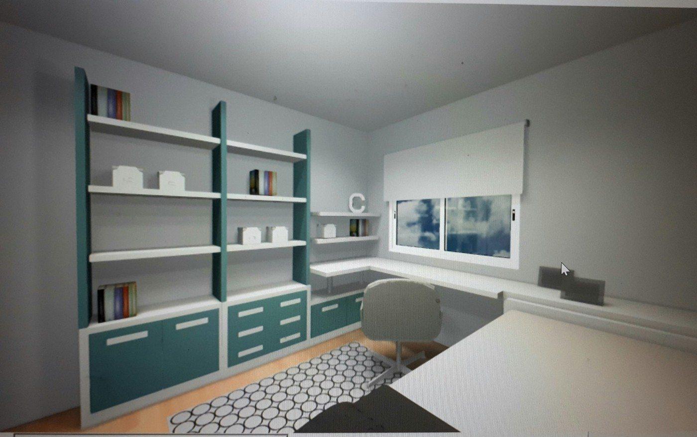 Dormitorio Juvenil. Decoración en Valladolid muebles lucama valladolid