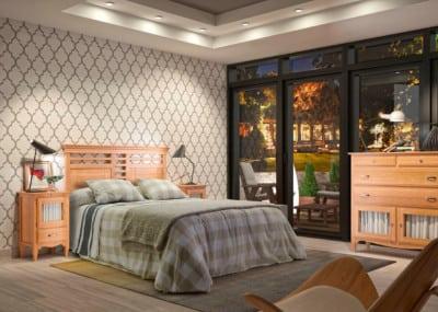 Dormitorio colonial Grupo Seys: Colección Fontana 36D