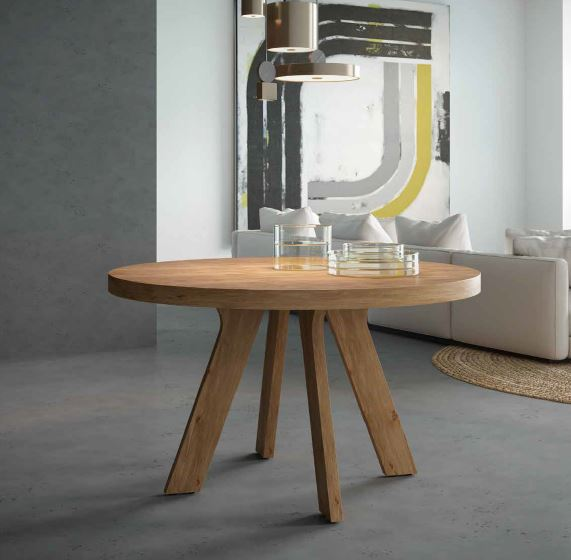 Auxival mesa auxiliar de madera