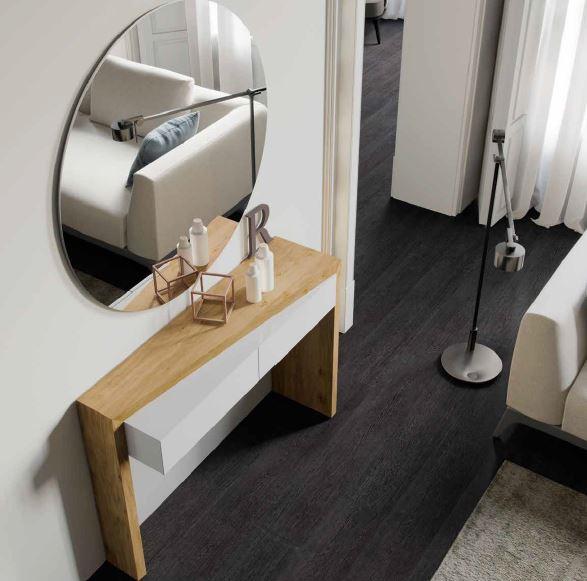 Auxival recibidor con espejo