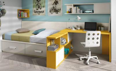 Dormitorio Juvenil Ros Nido Urban Tierra Amarillo