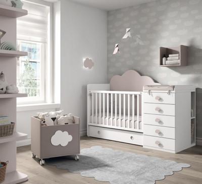 Dormitorio infantil Ros Mini Elite Cuna