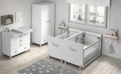 Dormitorio infantil Ros Mini Gemelos