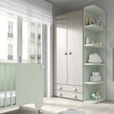 Dormitorio infantil Ros Mini Soft Urban Agua
