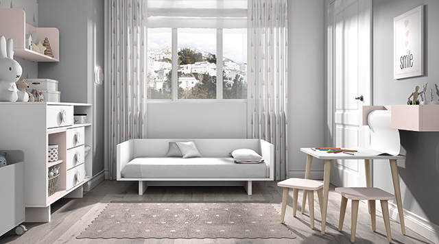Dormitorio infantil Ros Mini Tac Cama