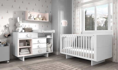 Dormitorio infantil Ros Mini Tac Cuna