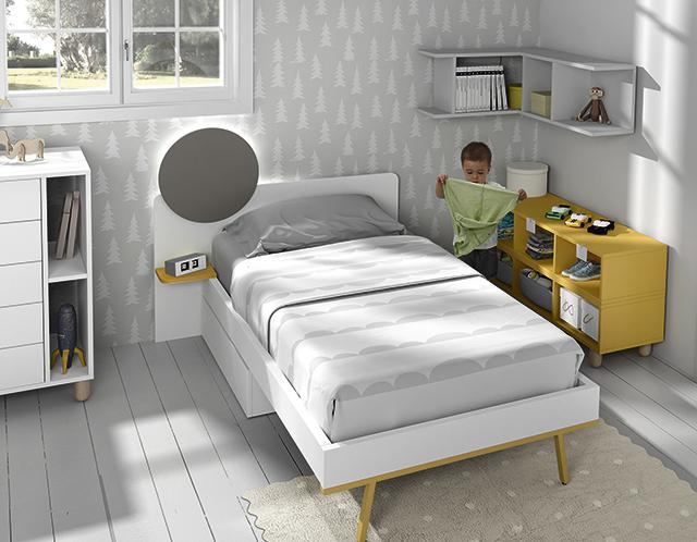 Dormitorio infantil Ros Mini Vision Cama