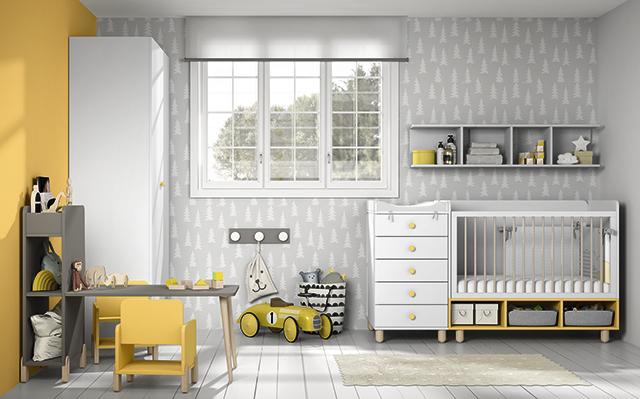 Dormitorio infantil Ros Mini Vision Cuna