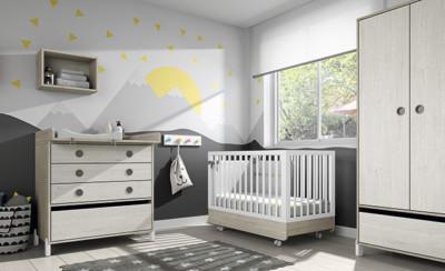 Dormitorio infantil Ros Mini: off Beat Dark Urban