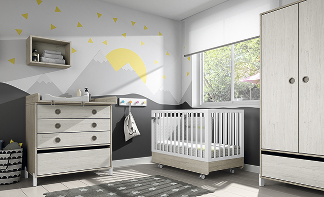 Dormitorio infantil Ros Mini: off Beat Dark Urban