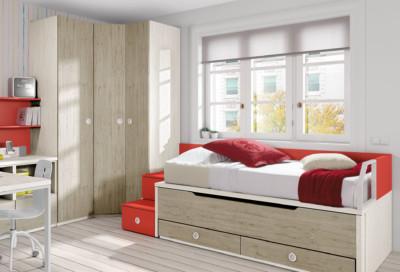 Dormitorio Juvenil Ros Urban Dark Bruma