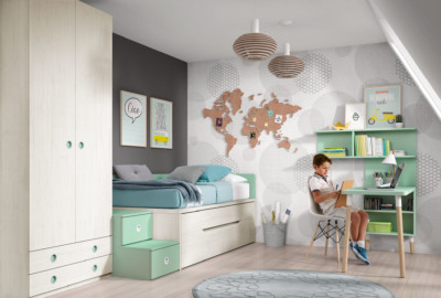 Dormitorio Juvenil Ros Urban Mar