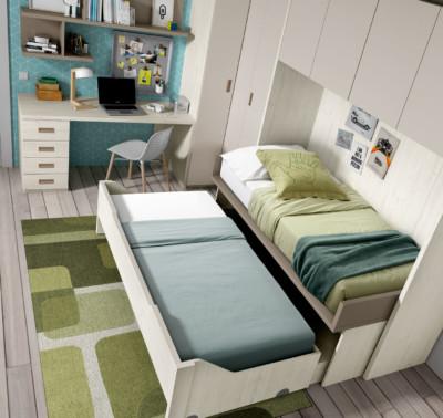 Dormitorio Juvenil Ros Urban Tierra Marrón