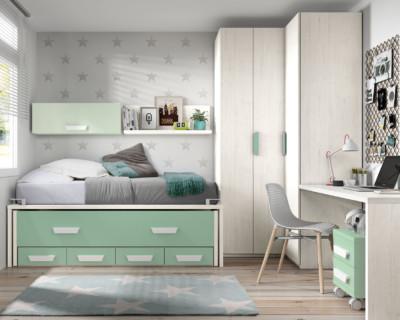 Dormitorio Juvenil Ros Urban Agua Mar